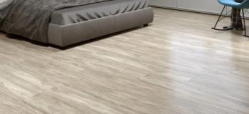 Instalação de piso vinilico em regua