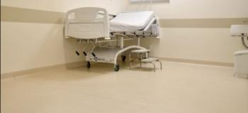 Piso hospitalar emborrachado